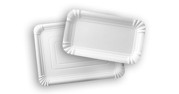 Rectangular paper trays