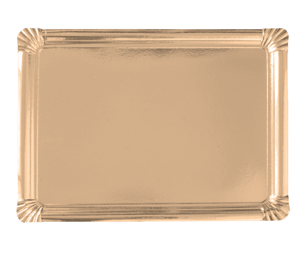 Rectangular trays 35x46 GOLD cm