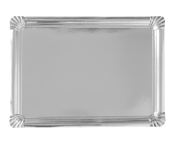 Rectangular trays 35x46 SILVER cm
